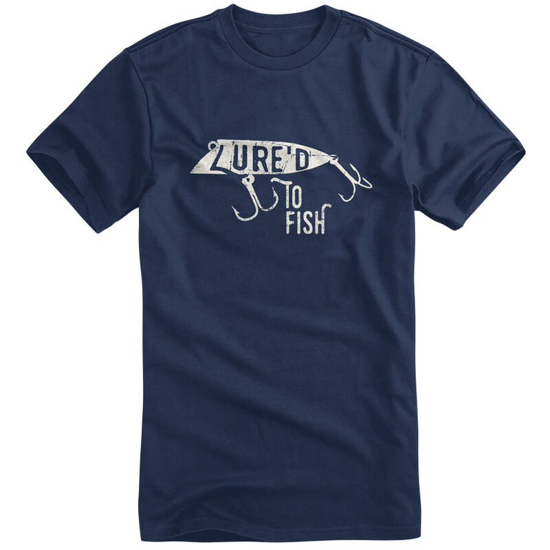 Fin Fighter Men's Lured To Fish Short-Sleeve Tee image number 1