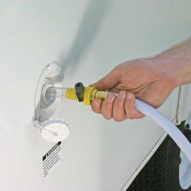 Water Tank Filler with Shut-Off Valve