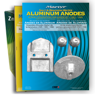 Martyr Anode Kit For Mercruiser Alpha Generation I, Zinc