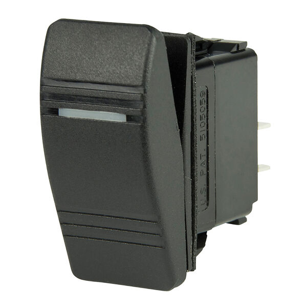 BEP DPST Contura Switch, Off/On, 1 LED