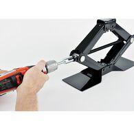 Ultra Scissor Jack Drill Attachment, Fits T-Slotted Jacks