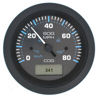 Sierra Eclipse GPS Speedometer With LCD Heading Display, 80 MPH