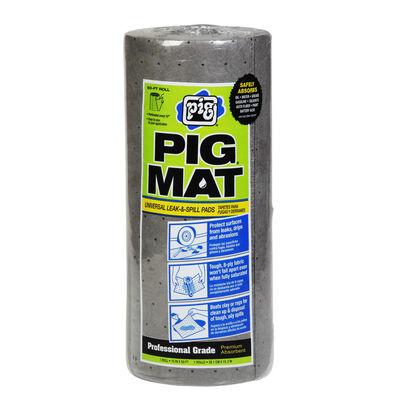"""New Pig Universal Lightweight Absorbent Mat Roll, 15"""" x 50'"""
