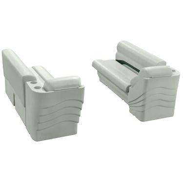 Toonmate Premium Pontoon Furniture Lounge And Lean-Back Package, Platinum