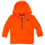 Carhartt Child's Blaze Logo Fleece Half-Zip Sweatshirt