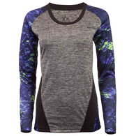 Huntworth Women's Heather Long-Sleeve Performance Tee
