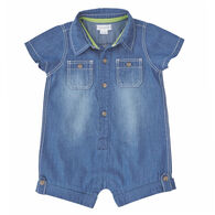Mud Pie Boys' Chambray One Piece