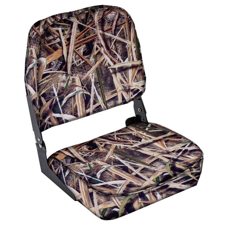 Wise Low-Back Camo Fishing Chair image number 3