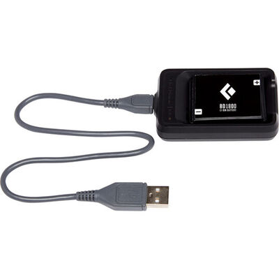 Black Diamond BD 1800 Rechargeable Battery with Charger