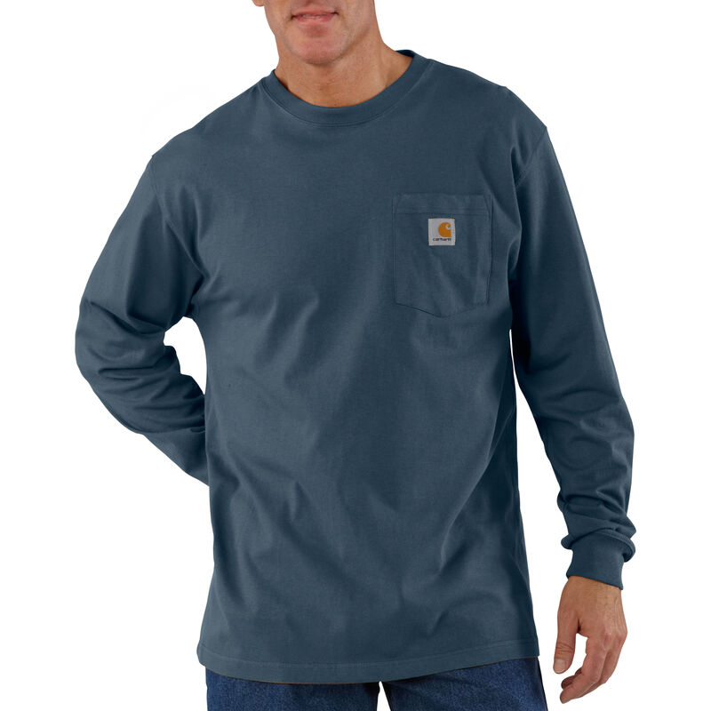 Carhartt Men's Workwear Long-Sleeve Pocket Tee image number 15