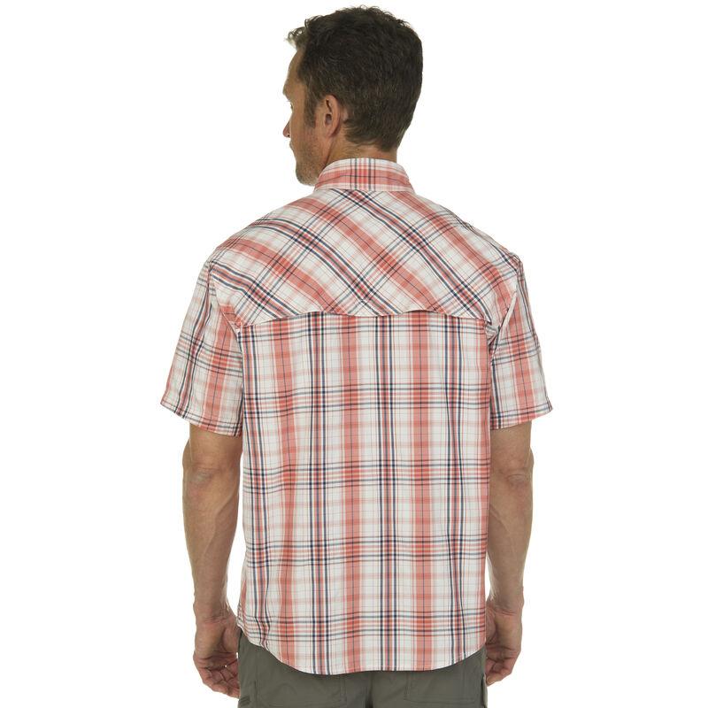 Nepallo Men's Trophy Quick-Dry Plaid Short-Sleeve Shirt image number 8