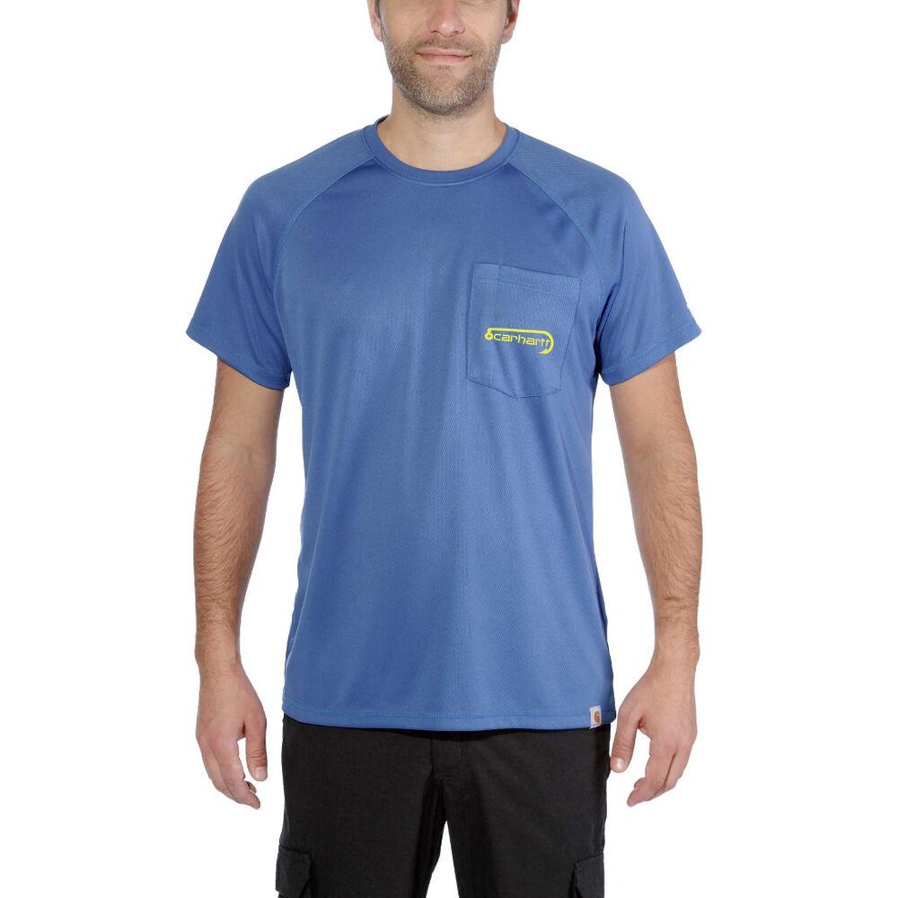 02edff285 Carhartt Men's Force Fishing Graphic Short-Sleeve Pocket Tee | Overton's