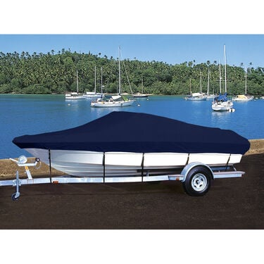 Hot Shot Coated Polyester Boat Cover For Bayliner 195 Classic Bow Rider