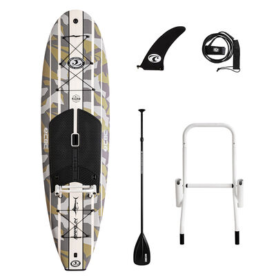 California Board Company 10' Marlin Fishing Stand-Up Paddleboard Package With Paddle And Leash
