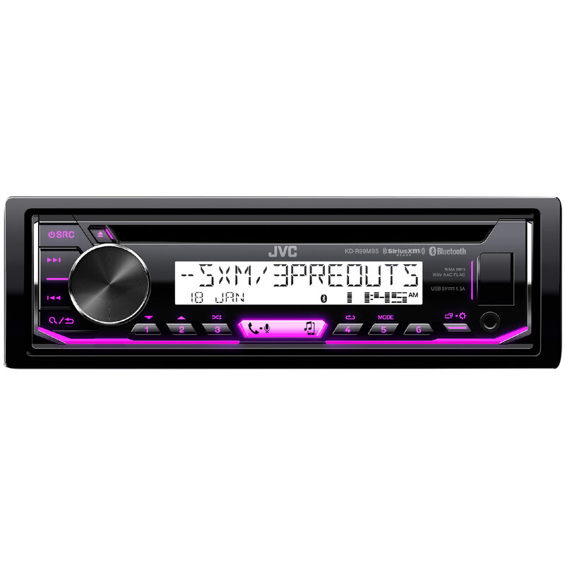 JVC KD-R99MBS CD Receiver With Bluetooth image number 3