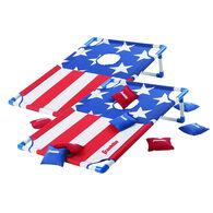 Franklin Sports American Flag Cornhole Board