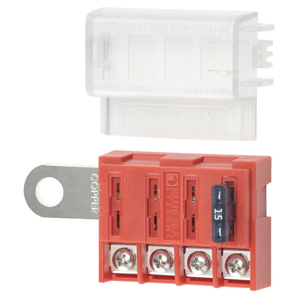Blue Sea Systems ST Blade Battery Terminal Mount Fuse Block