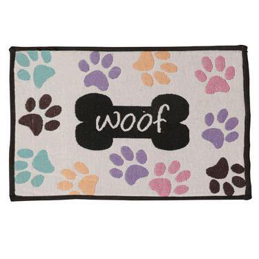 Woof Pet Food & Water Bowl Mat