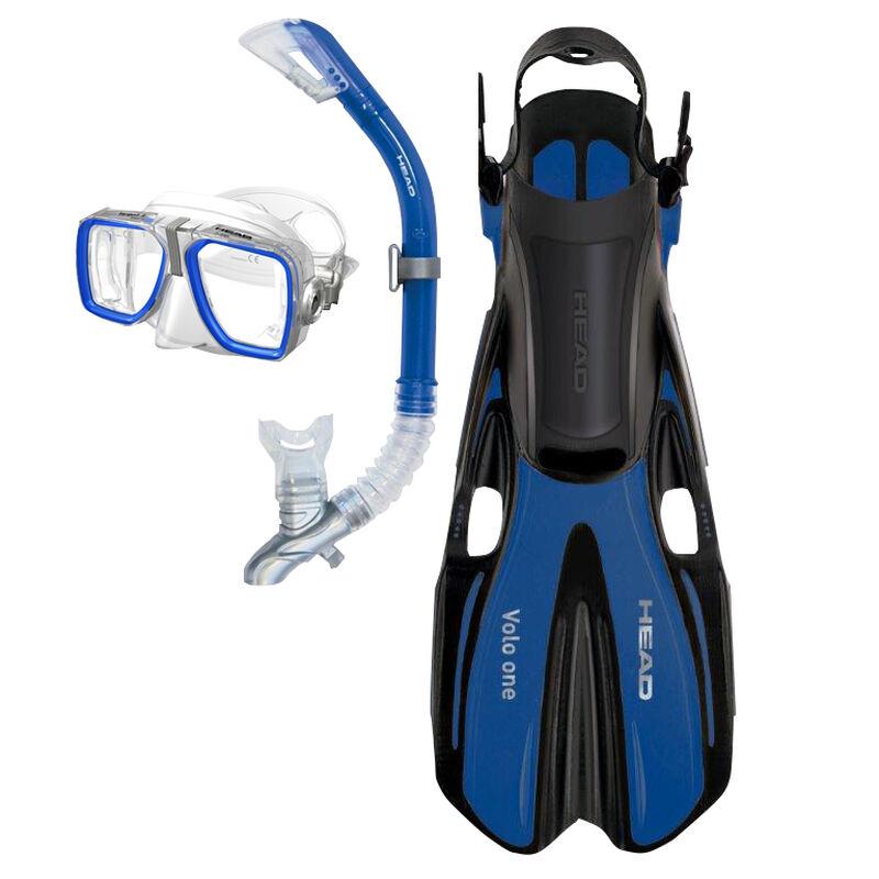 Head Tarpon Mask/Snorkel/Fin Set image number 2
