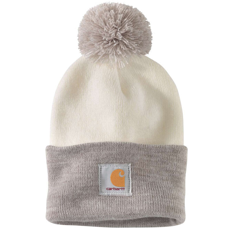 Carhartt Women's Lookout Acrylic Pom Pom Hat image number 4