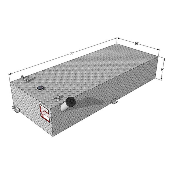 Auxiliary Fuel Tank- 33 Gallons