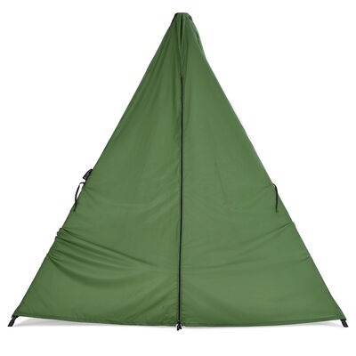 Green Hangout Stand Hammock Weather Cover