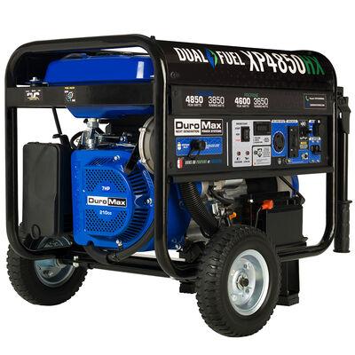 DuroMax 4,850-Watt 210cc Dual Fuel Portable Generator with CO Alert