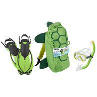 Head Sea Pals Junior Snorkeling Set - Green - S/M