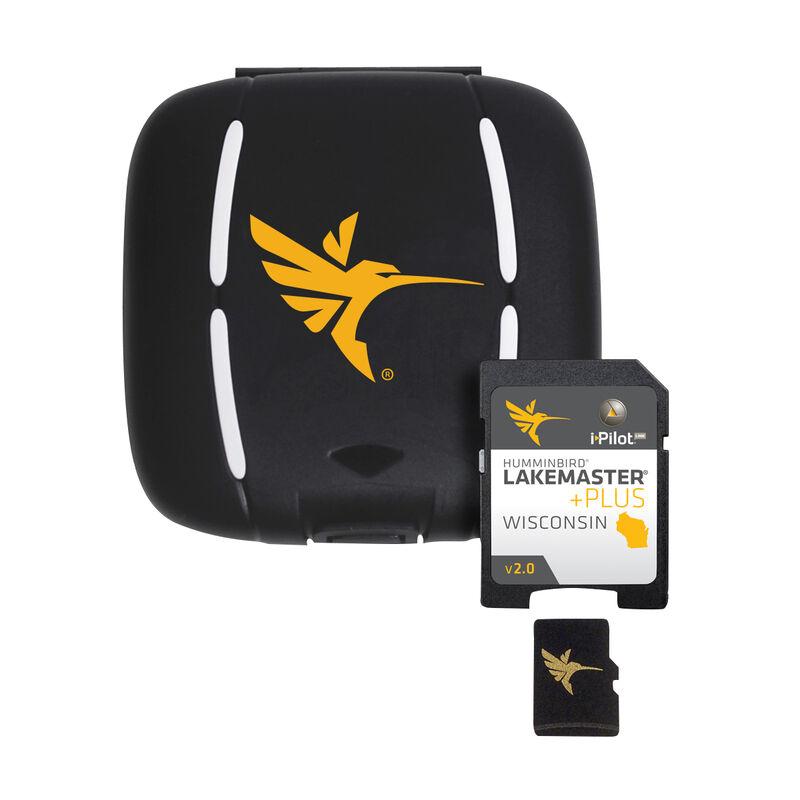 Humminbird LakeMaster Plus Chart MicroSD/SD Card, Wisconsin image number 1