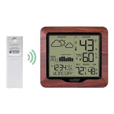 Wireless Weather Station with Barometric Pressure
