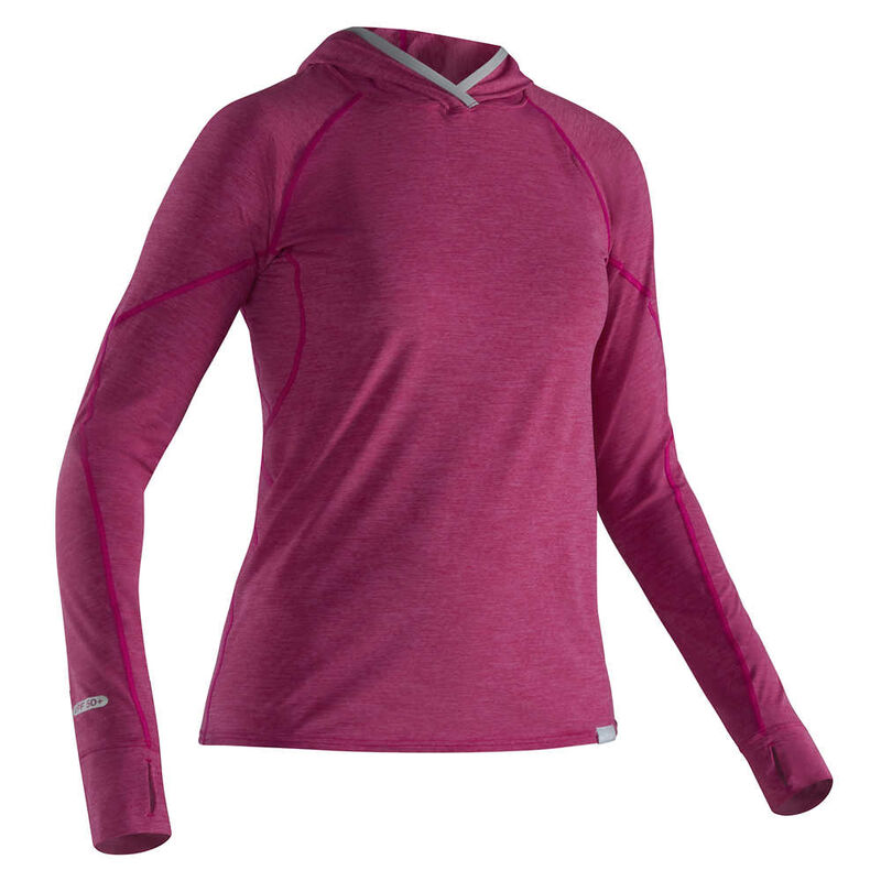 NRS Women's H2Core Silkweight Hoodie image number 1