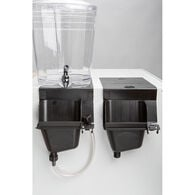 Catch-n-Store Drip Catcher, Black, Pair
