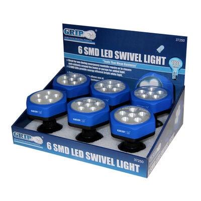 6 LED Swivel Light