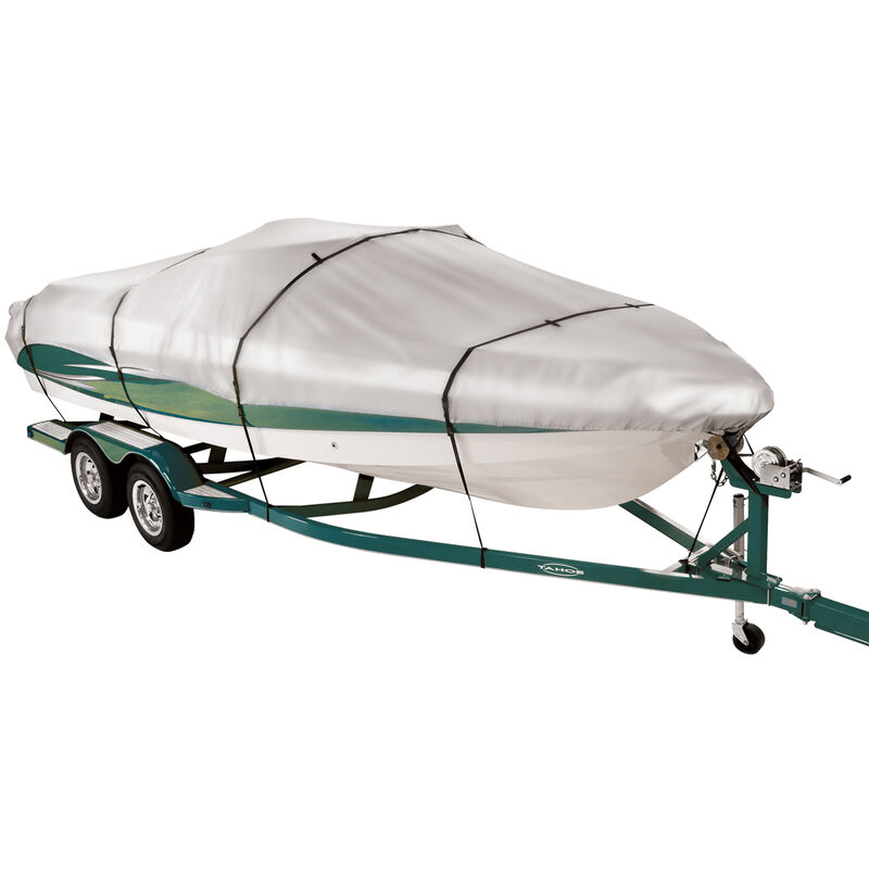 """17'5"""" max. length Covermate Imperial 300 V-Hull Outboard Boat Cover image number 1"""