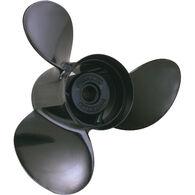 Michigan Wheel 3-Blade Prop, Pressed Rubber Hub / Aluminum, 14 dia x 17, RH