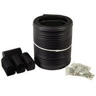 """Caliber 16' Bunk Wrap Kit For 2"""" x 4"""" Bunks, Black"""