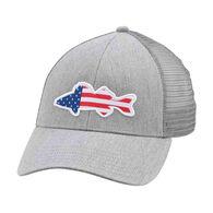 Simms USA Walleye Trucker Hat