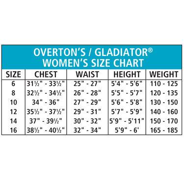 Overton's Women's Pro ComfoStretch Full Wetsuit