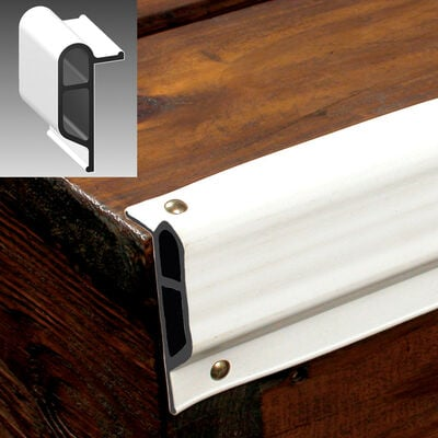 Dockmate Heavy-Duty Double-Molded Dock Profile, Small Edge Guard