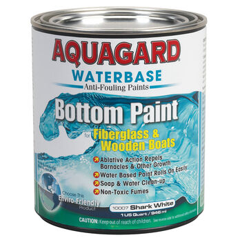 Aquaguard Waterbase Anti-Fouling Bottom Paint, Quart, Black