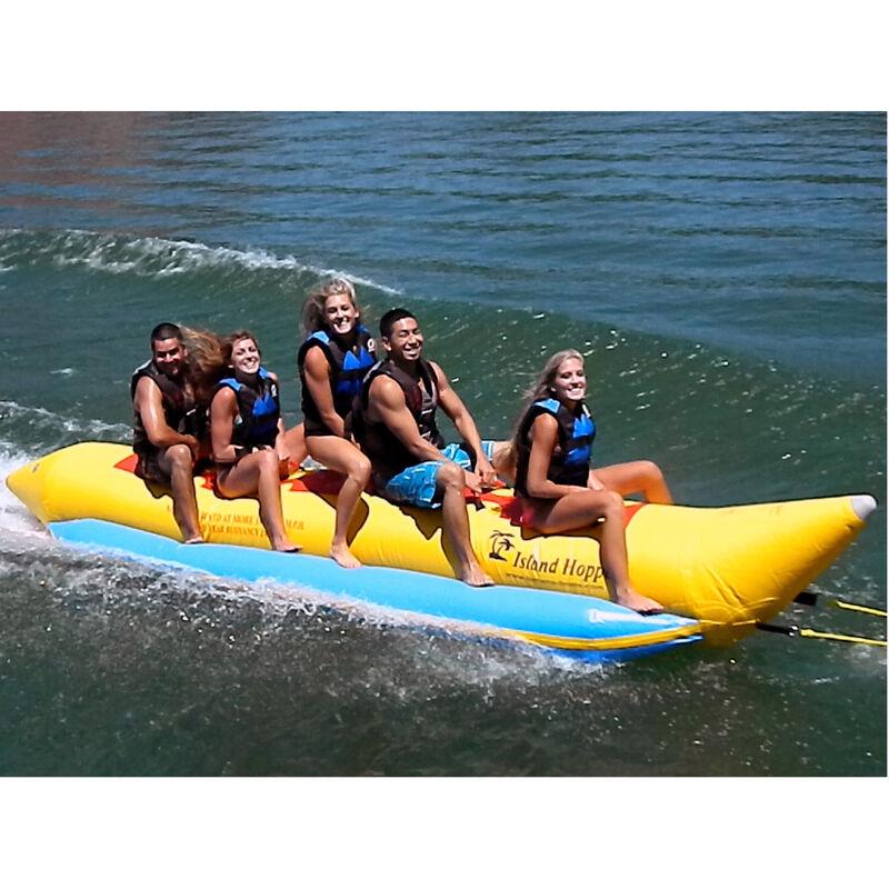 Island Hopper 5-Person Towable Banana Boat image number 1