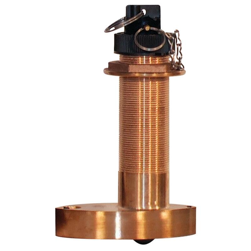 Furuno 525ST-MSD7 Bronze Thru-Hull Stem Transducer image number 1