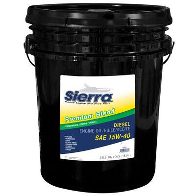 Sierra 15W-40 Diesel Engine Oil For Volvo Engine, Sierra Part #18-9553-5