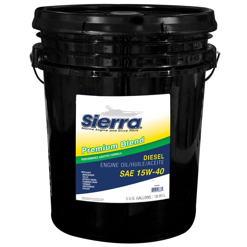 Sierra 15W-40 Diesel Engine Oil For Volvo Engine, Sierra Part #18-9553-5 image number 1