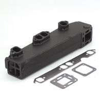 Replacement Manifold, Mercruiser V8 Manifold With End Riser, starboard side