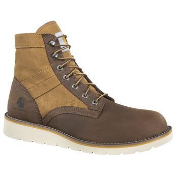 """Carhartt Men's 6"""" Brown Wedge Boot"""