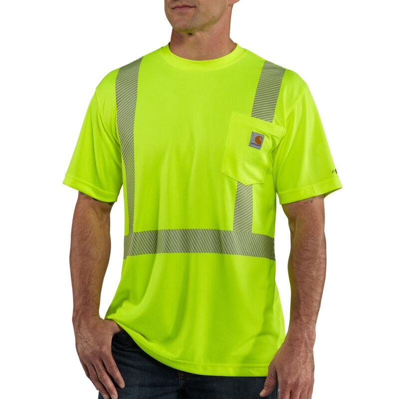 Carhartt Men's Force High-Visibility Short-Sleeve Class 2 T-Shirt image number 1