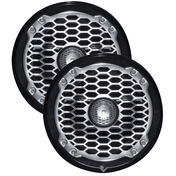"""Rockford Fosgate M282B 8"""" Full-Range Speakers"""