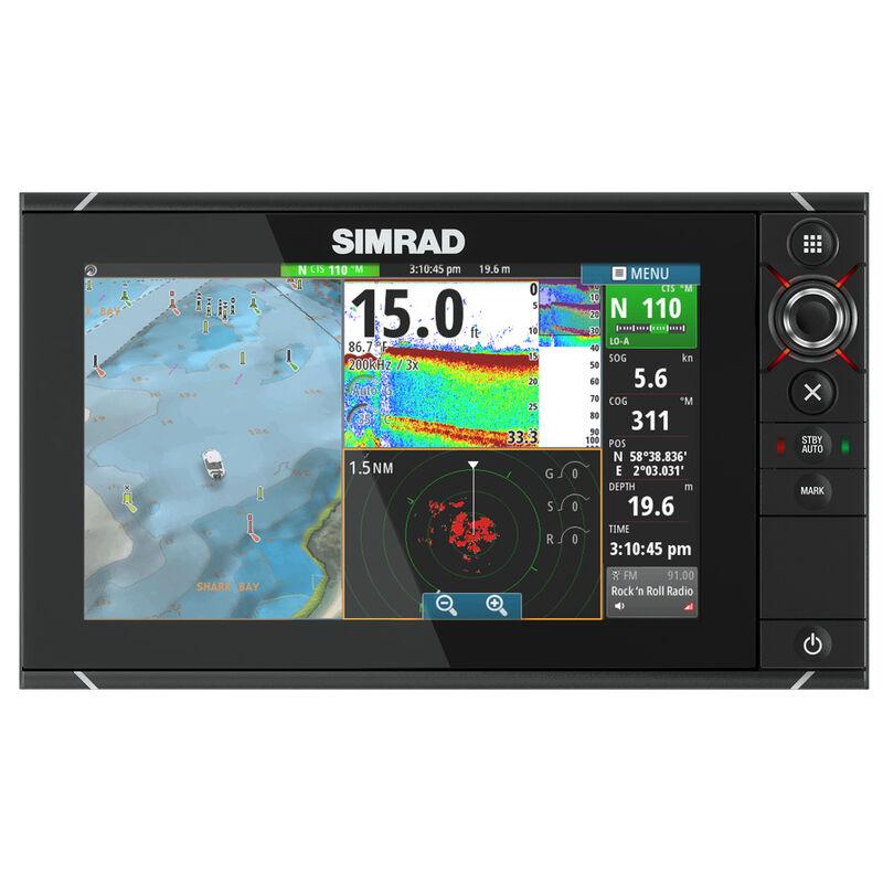 Simrad NSS9 evo2 Chartplotter/Multifunction Display image number 1