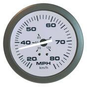 "Sierra Driftwood 3"" Speedometer, 80 MPH"